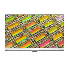 Colors Color Live Texture Macro Business Card Holder