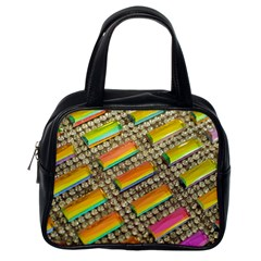 Colors Color Live Texture Macro Classic Handbag (one Side) by Sapixe