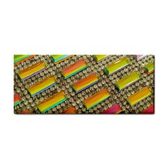 Colors Color Live Texture Macro Hand Towel by Sapixe