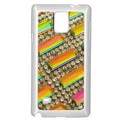 Colors Color Live Texture Macro Samsung Galaxy Note 4 Case (white) by Sapixe