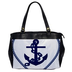 Anchor Chain Nautical Ocean Sea Oversize Office Handbag by Sapixe