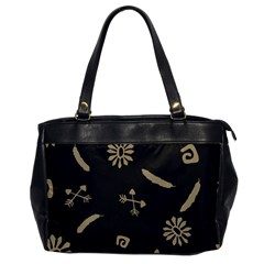 Pattern Seamless American Culture Oversize Office Handbag