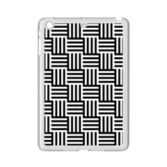 Basket Black Lines Stripes White Ipad Mini 2 Enamel Coated Cases