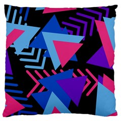 Memphis Pattern Geometric Abstract Large Cushion Case (two Sides)