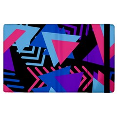 Memphis Pattern Geometric Abstract Apple Ipad 3/4 Flip Case by Sapixe