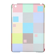 Pastel Diamonds Background Apple Ipad Mini Hardshell Case (compatible With Smart Cover) by Sapixe