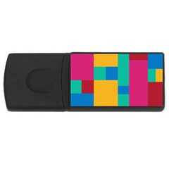 Background Abstract Rectangular Usb Flash Drive