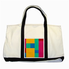 Background Abstract Two Tone Tote Bag by Sapixe