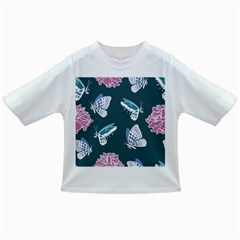 Butterfly Pattern Dead Death Rose Infant/toddler T Shirts