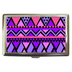 Seamless Purple Pink Pattern Cigarette Money Case by Sapixe