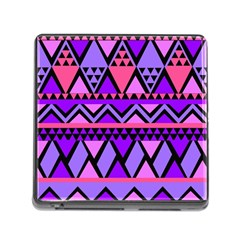 Seamless Purple Pink Pattern Memory Card Reader (square 5 Slot)