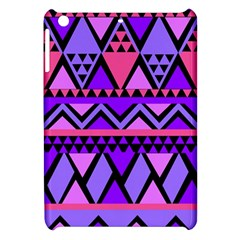 Seamless Purple Pink Pattern Apple Ipad Mini Hardshell Case by Sapixe