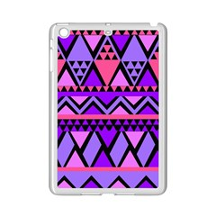 Seamless Purple Pink Pattern Ipad Mini 2 Enamel Coated Cases by Sapixe