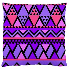 Seamless Purple Pink Pattern Standard Flano Cushion Case (two Sides) by Sapixe