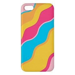 Cake Color Palette Painting Apple Iphone 5 Premium Hardshell Case