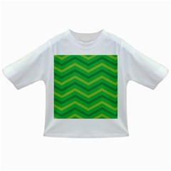 Green Background Abstract Infant/toddler T Shirts