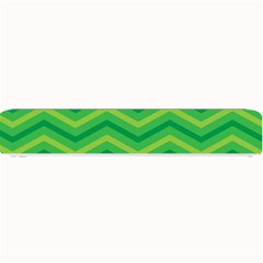 Green Background Abstract Small Bar Mats by Sapixe