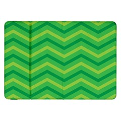 Green Background Abstract Samsung Galaxy Tab 8 9  P7300 Flip Case by Sapixe