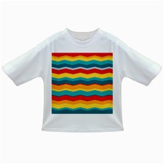 Retro Colors 60 Background Infant/toddler T Shirts