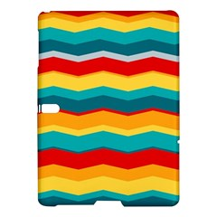 Retro Colors 60 Background Samsung Galaxy Tab S (10 5 ) Hardshell Case  by Sapixe