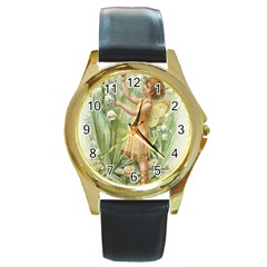 Fairy 1225819 1280 Round Gold Metal Watch by vintage2030