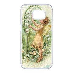 Fairy 1225819 1280 Samsung Galaxy S7 Edge White Seamless Case by vintage2030