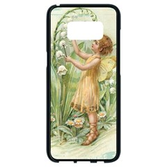Fairy 1225819 1280 Samsung Galaxy S8 Black Seamless Case by vintage2030