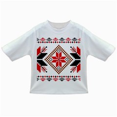 Ornament Stars Textile Crochet Infant/toddler T Shirts