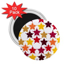 Background Abstract 2 25  Magnets (10 Pack)  by Sapixe