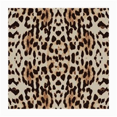 Pattern Leopard Skin Background Medium Glasses Cloth (2 Side)