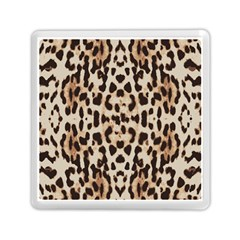 Pattern Leopard Skin Background Memory Card Reader (square) by Sapixe