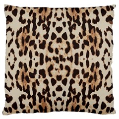 Pattern Leopard Skin Background Large Cushion Case (two Sides) by Sapixe