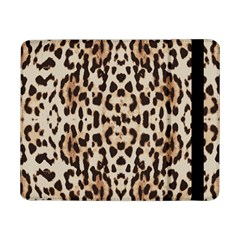 Pattern Leopard Skin Background Samsung Galaxy Tab Pro 8 4  Flip Case