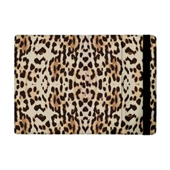Pattern Leopard Skin Background Ipad Mini 2 Flip Cases by Sapixe