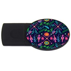 Pattern Nature Design Patterns Usb Flash Drive Oval (2 Gb)