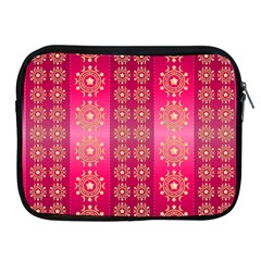 Background Pattern Pink Wallpaper Apple Ipad 2/3/4 Zipper Cases