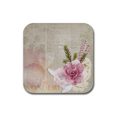 Scrapbook 1133667 1920 Rubber Square Coaster (4 Pack)