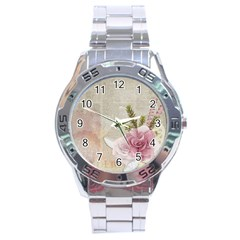 Scrapbook 1133667 1920 Stainless Steel Analogue Watch by vintage2030
