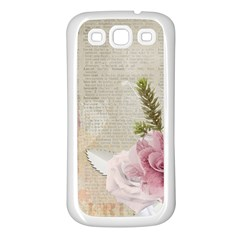 Scrapbook 1133667 1920 Samsung Galaxy S3 Back Case (white) by vintage2030