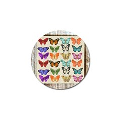 Butterfly 1126264 1920 Golf Ball Marker (4 Pack) by vintage2030