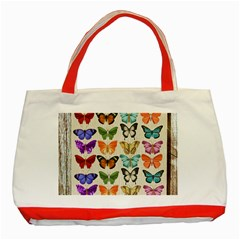Butterfly 1126264 1920 Classic Tote Bag (red)