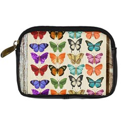 Butterfly 1126264 1920 Digital Camera Leather Case by vintage2030