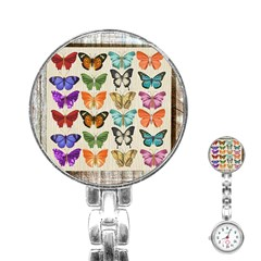 Butterfly 1126264 1920 Stainless Steel Nurses Watch by vintage2030