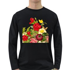 Flower Bouquet 1131891 1920 Long Sleeve Dark T Shirt