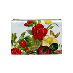Flower Bouquet 1131891 1920 Cosmetic Bag (medium) by vintage2030