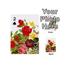 Flower Bouquet 1131891 1920 Playing Cards 54 (mini) by vintage2030
