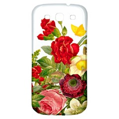 Flower Bouquet 1131891 1920 Samsung Galaxy S3 S Iii Classic Hardshell Back Case by vintage2030