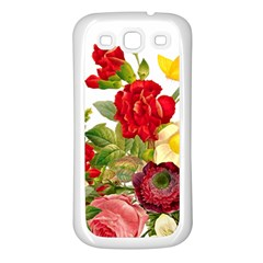 Flower Bouquet 1131891 1920 Samsung Galaxy S3 Back Case (white) by vintage2030