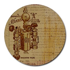 Vintage 1123731 1920 Round Mousepads