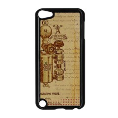 Vintage 1123731 1920 Apple Ipod Touch 5 Case (black) by vintage2030
